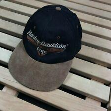 Mens Hat Cap Vintage Harley Davidson Cafe New York One Size