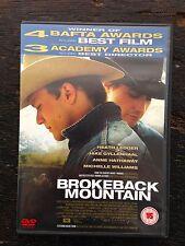 Brokeback Mountain(DVD, 2005) - Ang Lee Drama, Heath Ledger, Jake Gyllenhaal