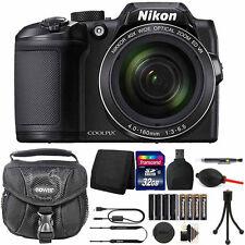 Nikon Coolpix B500 Camera 40X  Optical Zoom + Extra Batteries + Top Accessories