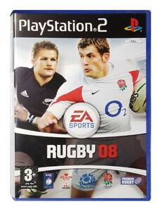 RUGBY 08 (PS2 Game) Playstation 2 A