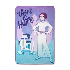 Star Wars - Forces of Destiny Purple & Turquoise Bed Blanket