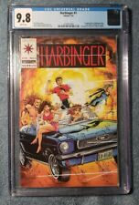 HARBINGER #1 CGC 9.8 White 1st Appearance of Harbinger Valiant Bob Layton