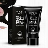 Deep Cleansing Purifying Peel Acne Black Mud Face Mask Blackhead Remover BIOAQU