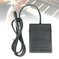 Black Professional Sustain Pedal Universal Foot Switch Damper Pedal