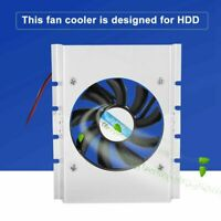 DC12V 4Pin Cooling Fan Cooler 80mm For Hard Disk Drive HDD Radiator 5000RPM FOY