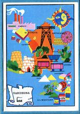ITALIA PATRIA NOSTRA Panini 1969 Figurina/Sticker n. 312 - SARDEGNA -New