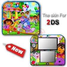 Dora The Explorer Diego Popular SKIN STICKER DECAL COVER #1 for Nintendo 2DS