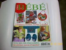 """idées .  magazine """"   bebe """"  6 TBE"""