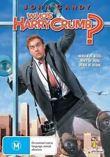 WHO'S HARRY CRUMB? DVD=JOHN CANDY=REGION 4 AUSTRALIAN RELEASE=NEW AND SEALED
