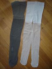 2 Collant 15 D ultra sheer taille M pour mec 165-175cm gay inte gris +grisclair