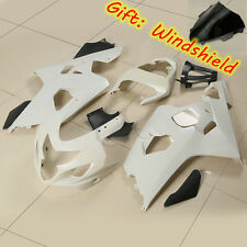 Unpainted ABS Fairing Bodywork Set For SUZUKI GSX-R GSXR 600 750 GSXR750 04-05