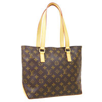 LOUIS VUITTON CABAS PIANO HAND TOTE BAG VI1028 PURSE MONOGRAM M51148 36454