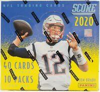2020 Score Football (1)Hobby Box Break (RANDOM TEAM) #001