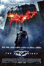 Dark Knight 2008 original DS US one-sheet movie poster Christian Bale