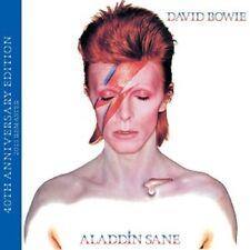 DAVID BOWIE - ALADDIN SANE (40TH ANNIVERSARY EDITION) CD 10 TRACKS GLAMROCK NEU
