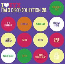 ZYX Italo Disco Collection 28 von Various Artists 3CDs