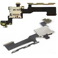 Para HTC One M9 Botón de Encendido Flexible Botones Volumen Lector Tarjetas SD