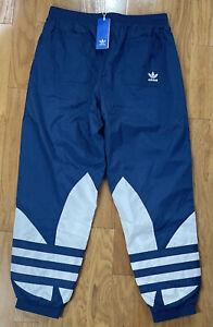 Adidas Originals Big Trefoil Night Marine Blue Track Pants FM9895 - Men's Large