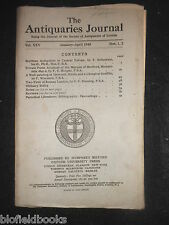 THE ANTIQUARIES JOURNAL - 1945 - Vol 25/Pt 1-2 - Roman London Fires, Idsworth