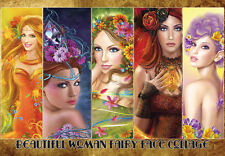 "Jigsaw Puzzles 1000 Pieces""Beautiful woman fairy face collection""/AlenaLazareva"