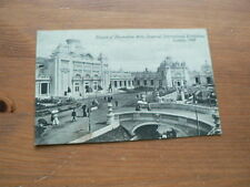 Imperial International Exhibition London 1909 Postcard, Palace of Decorative Art