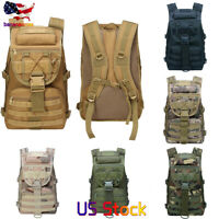 35L Outdoor Military Rucksacks Tactical Backpack Camping Hiking Trekking Bag US