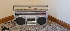 Vintage Panasonic RX-4940 Portable AM/FM Stereo Cassette Recorder Player Boombox