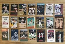 1996 College Baseball Schedules Lot of 53