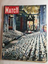 N1606 Magazine Paris-Match No 706 20 Oct 1962 Jean Xx III Opener The I E Council