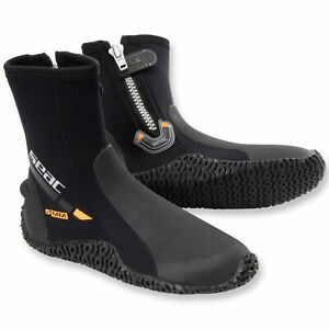 SEAC 5mm HD Ultra Stretch Neoprene High Traction Sole Dive Boots - Scuba Booties