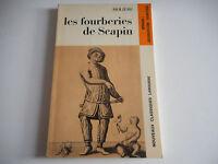 LES FOURBERIES DE SCAPIN / MOLIERE - CLASSIQUES LAROUSSE