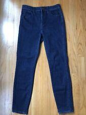 """MADEWELL 10"""" High Rise Skinny Skinny Jean Size 28 (0014)"""