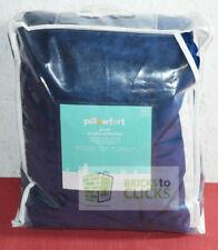 "Pillowfort Plush Weighted Blanket 6lbs 40""x60"" Blue"
