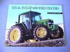 John Deere 6200, 6300, 6400 Tractor Brochure 24 Pages