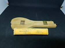 Vintage Sears Roebuck & Co Deluxe Rug Needle Set #2 #3 #4 #6 And Shuttle Needle