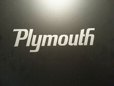 PLYMOUTH DECAL *** GTX DODGE CHARGER  CUDA MOPAR HEMI  SUPER BEE