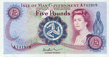 Isle of Man P-30 5 pounds (1972)