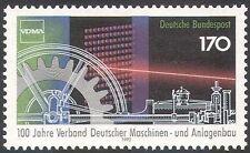 Germany 1992 Engineering/Engines/Machinery/Laser/Science/Cogwheel 1v (n29523)