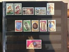 POLYNESIE. 11 TIMBRES DIFFERENTS NEUFS LUXES SANS CHARNIERE. 1958/68. BELLE COTE
