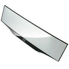 Super Wide Curve Room Mirror for all cars 300mm (Black) For All Cars