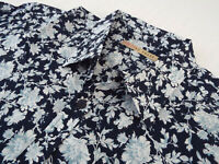 """TED BAKER Mens Shirt 🌍 Size 3 (CHEST 42"""") 🌎RRP £65-129+📮 FLORAL LIBERTY PRINT"""