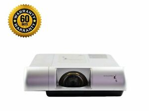 Promethean PRM-30 Short-Throw LCD Projector +Remote For Golf Simulator, Crestron