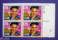 Sc # 2721 ~ Plate # Block ~ 29 cent Elvis Presley Issue (dc5)