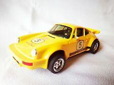 SCALEXTRIC PORSCHE CARRERA RS amarillo #5 EXIN 4051 (1975) /C1/