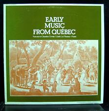 LINDA LEE THOMAS early music from quebec LP Mint- SM 204 CBC Radio Canada 1969
