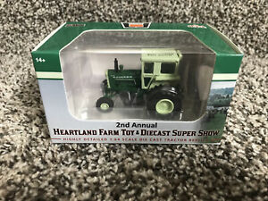 2021 SpecCast 1:64 OLIVER 1855 WF Tractor w/CAB 2nd Annual HEARTLAND TOY SHOW