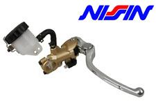 Nissin pompa freno radiale 19mm oro leva argento UNIVERSALE MOTO