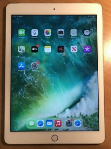 Apple iPad Air 2 64GB, Wi-Fi + Cellular (Unlocked), 9.7in - Space Gold