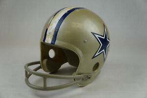 VTG DALLAS COWBOYS Rawlings HNFL-N 2 Bar Football Helmet S NFL