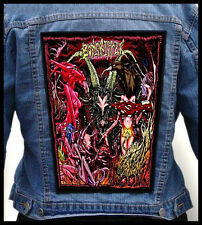 BONGRIPPER - Satan Worshipping Doom  --- Giant Backpatch Back Patch